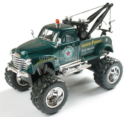 Kinsmart Chevrolet 3100 Wrecker 1953 OFF ROAD зеленый