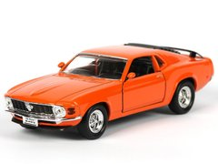 Welly Ford Mustang Boss 302 1970 оранжевый