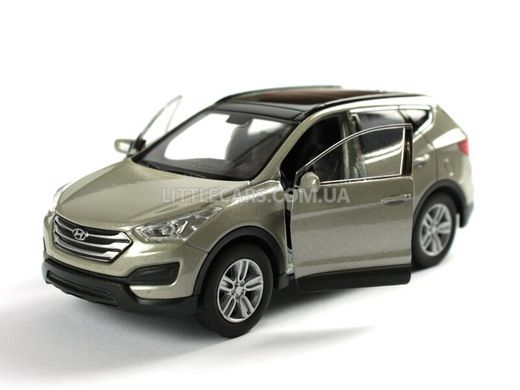 Welly Hyundai Santafe бежевый