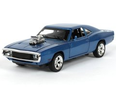 Автопром Dodge Charger RT 1970 1:32 синий