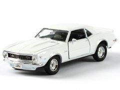 Welly Chevrolet Camaro 1968 Z28 белый