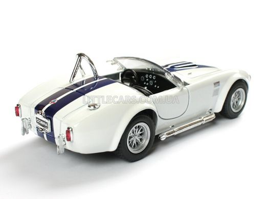Kinsmart Ford Shelby Cobra 427 S/C 1965 белый