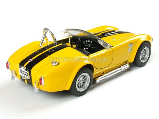 Kinsmart Ford Shelby Cobra 427 S/C 1965 жовтий