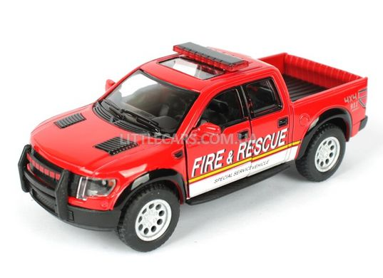 Kinsmart Ford F-150 Raptor Super Crew пожарный