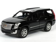 Welly Cadillac Escalade 2017 1:34 черный