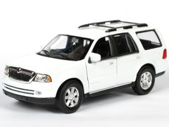 Welly Lincoln Navigator 2005 1:35 белый