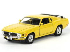 Welly Ford Mustang Boss 302 1970 желтый